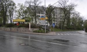 Hofer Theater: Bushaltestelle ideal zum Mitnehmen
